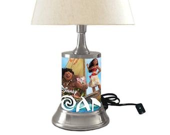Disney's MOANA Lamp with shade
