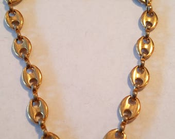 Vintage Avon Florentine chain bracelet, avon, avon bracelet, bracelet