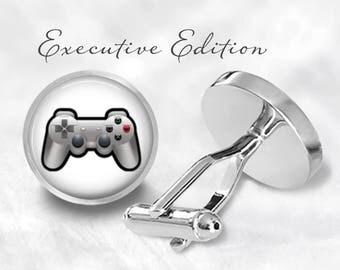 Video Game Controller Cufflinks - Gamer Cufflinks - Gaming Cufflinks Cuff Links (Piar) Lifetime Guarantee (S0963)