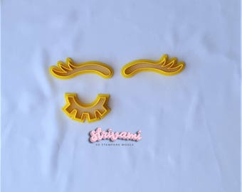 Unicorn Eyelash Cookie Cutter,Unicorn Eyebrow Cookie Cutter,Unicorn Cookie Cutter,Birthday Cookie Cutters,Baby Themed Cookie Cutters
