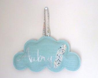 Cloud linen Liberty feather customizable celadon Liberty Adelajda