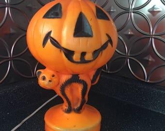 Empire Pumpkin Jack-o-Lantern Halloween Lighted Blow Mold