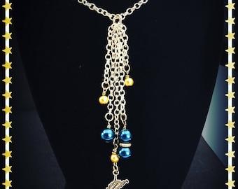 WVU West Virginia necklace
