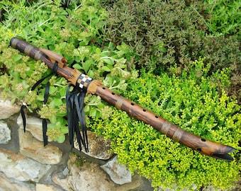 Nativa american style flute   Duck flute   key G#