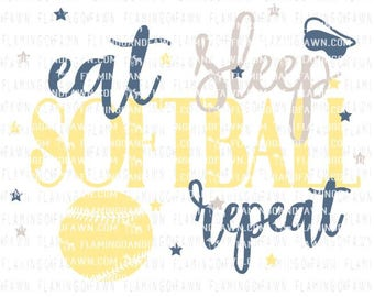 softball svg files, softball dxf, softball mom svg, softball dad svg, svg softball, eat sleep softball repeat svg, softball coach svg