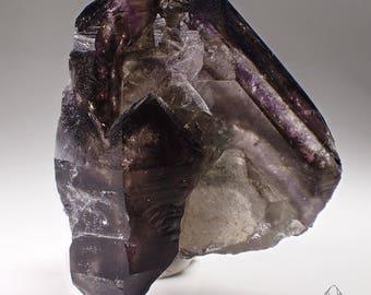 Brandberg Lustrous Smoky Amethyst Quartz Crystal Specimen, Goboboseb Namibia