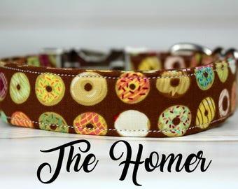 Dog Collar Donuts, Donut Dog Collar, Fat Dog Collar, Donut Collar, Food Dog Collar, Funny Dog Collar, Funny Collar, Donut Dog, Dog Collar