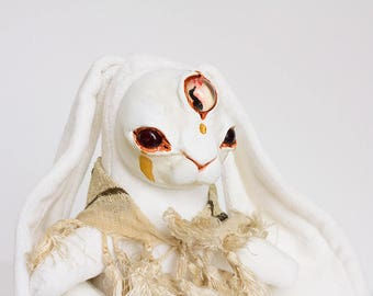 "OOAK Artdoll ""Sol the Summer Solstice Witch"""