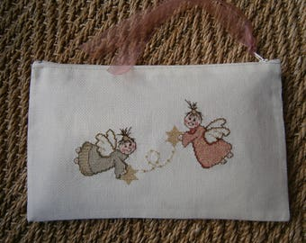 Smiling Angels pouch
