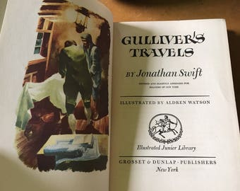 1947 Gulliver's Travels by Jonathan Swift