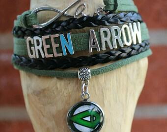 Infinity love bracelet Green Arrow