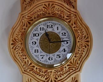 Dutch Clock - Wood