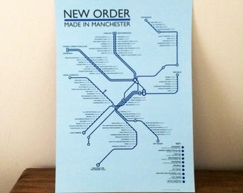 New Order - Made in Manchester NEW for 2018!!