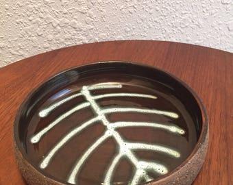 Vintage NITTSJO Sweden Thomas Hellstrom Pottery Bowl