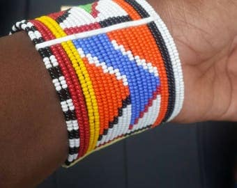 African handmade bracelets, beaded bracelets women, jewelry gifts for women,