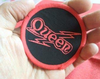 Queen Freddie Mercury flash vintage 1970s ,RED border