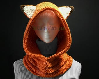 Fox Cowl for Adults