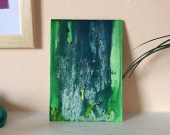 The Word for World is Forest- Original abstract painting.