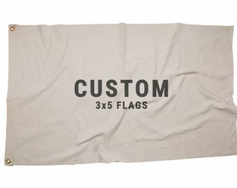 Custom 3x5ft Canvas Flag, custom flags, flag, handmade flags, customizable flag, man cave, unique gifts, holiday gift ideas, banner