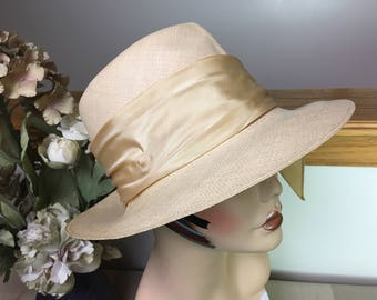 Vintage Panama Hat from I. Magnin, 1960s