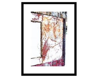 Abstract Print, Living Room Wall Art, Abstract Art, Modern Wall Art Print, Rustic Wall Art, Hall Print, Unframed.