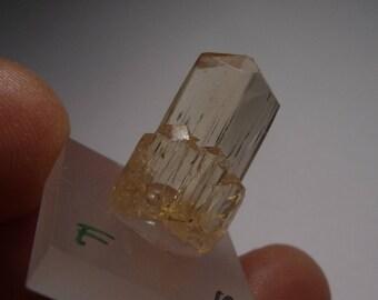 Yellow SCAPOLITE raw Crystal (1, 6gramm) Yellow Scapolite Crystal rough, Tanzania Tanzania #15