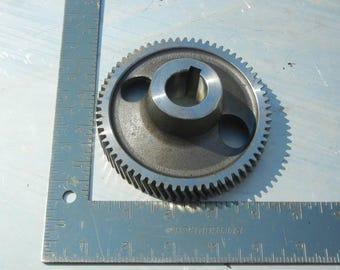 Steampunk diesel gear for crafts or paperweight