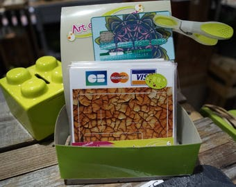 Crazing credit card stickers