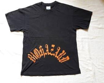 Vintage Rare 1994 Biohazard Tee Vtg 90s 1990s Hardcore Punk Thrash Metal T Shirt NYHC