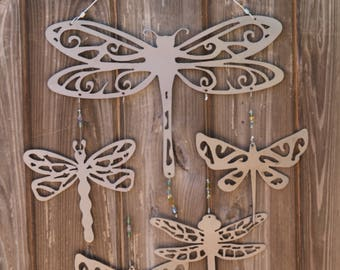 Dragonfly Wind Chime (Steel)