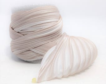 Silk ribbon Shibori N 153  Free delivery from  50 dollar...