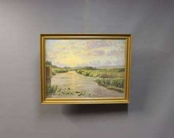 Painting on canvas from around 1920