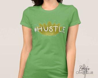 Hustle Hashtag Tee; Frog Princess Tee