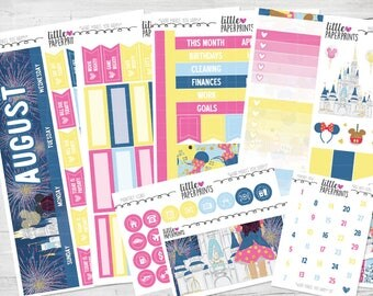 "AUGUST MONTHLY VIEW | ""What Makes You Happy"" Glossy Kit 