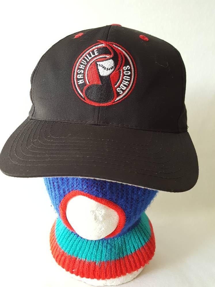 ef340d0c441 Vtg Nashville Sounds snapback hat TN MiLB baseball cap