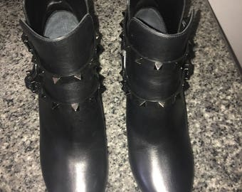 Valentino rock stud booties new with tags