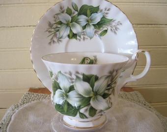 Royal Albert Trilium Bone China Tea Cup - Item #1447