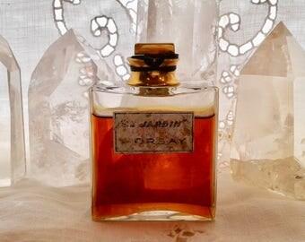 D'Orsay, Le Jardin, 30 ml. or 1 oz. Pure Parfum Extrait, 1931, Paris, France ..