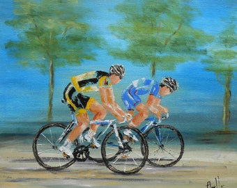 "Painting"" Training cycling """