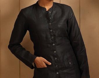 50% OFF MONSOON SALE Mahe Linen Jacket