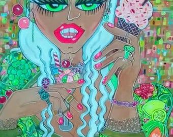 Tutti Frutti meringue fiesta