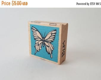 Butterfly Effect - Rubber Stamp - Vintage ~ 161222