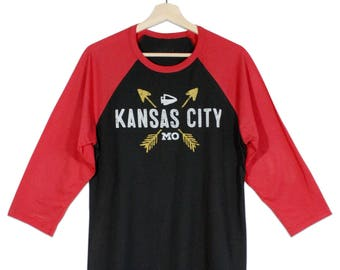 KC ARROW Black/Red Sleeve