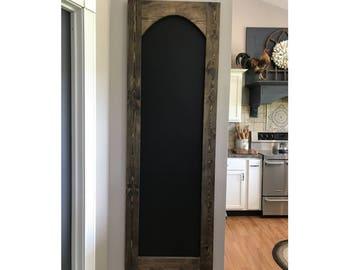 Large Chalkboard 6 foot tall, Handmade Chalkboard, Custom Chalkboard