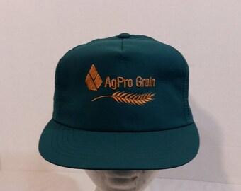 AgPro Grain VTG Dad Baseball Truckers Hat Cap SnapBack