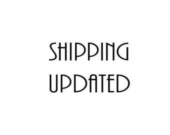 SHIPPING updated