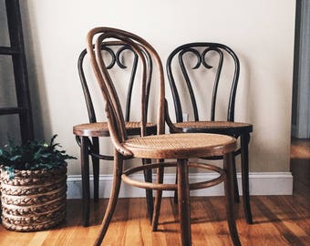 antique thonet style bentwood chairs with cane seats antique wood dining chairs decorative chairs
