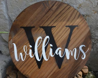 Family Hand painted Wood Sign