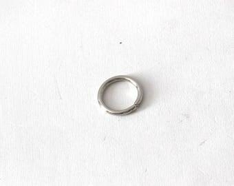set of 6 Classic bag rings 2.3 cm