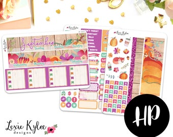 Happy Planner - September Colors - Monthly View [259-1]